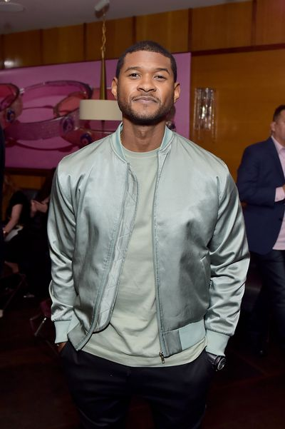 Usher at Lorraine Schwartz 'The Eye Bangle' for Against Evil Eye Collection launch in Los Angeles