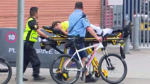 Specialist medical teams were deployed to the 'Rolling Loud' hip hop festival held at Sydney Olympic Park on Sunday.