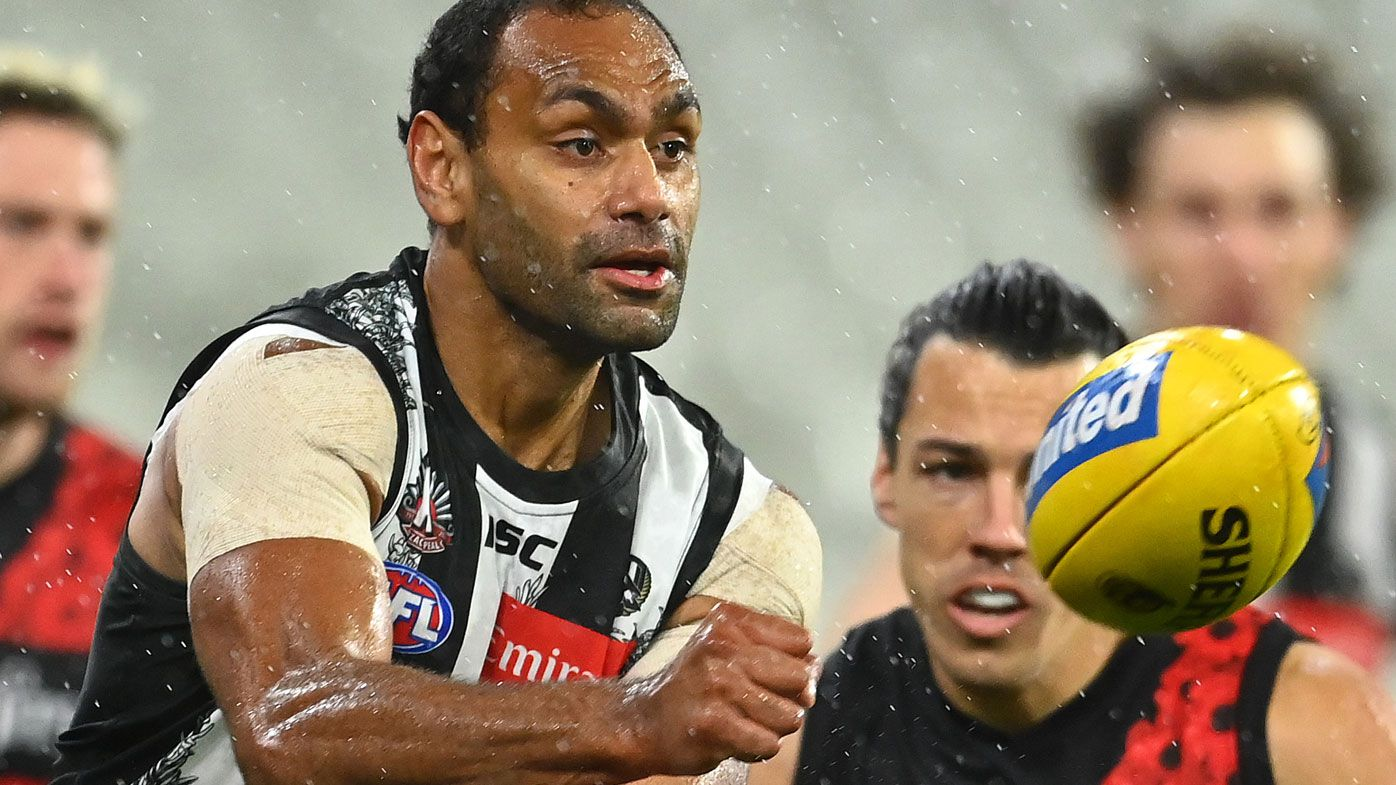Mason Cox calls out racism against Pies teammate Travis Varcoe, Patty Mills responds