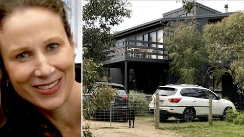 Police have scoured the area near Ms Curry's holiday home, and are today setting up an information caravan. (9NEWS)