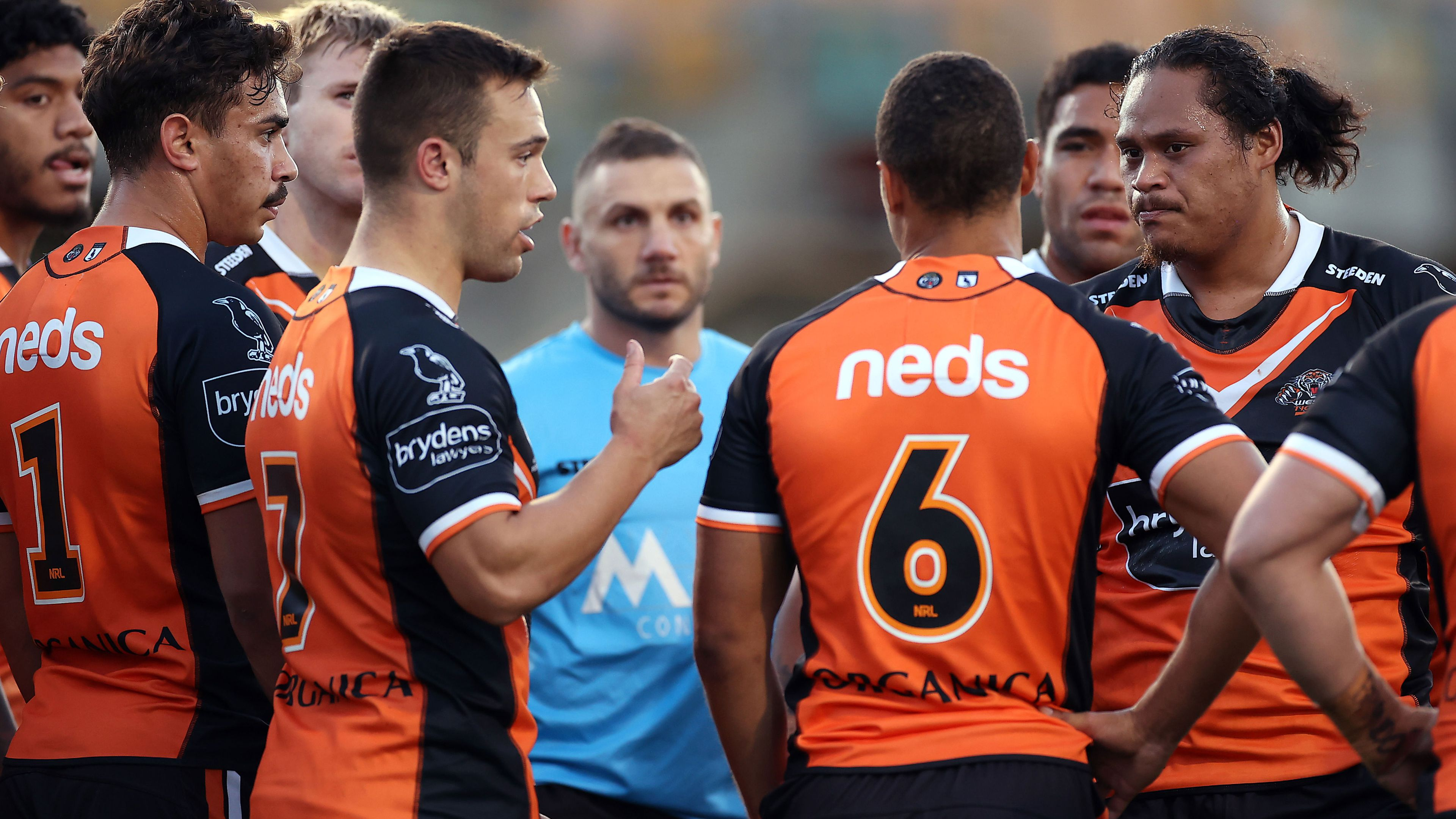EXCLUSIVE: Wests Tigers' players have hung Michael Maguire out to dry, says Andrew Johns