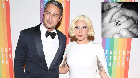 Lady Gaga and Taylor Kinney...and that engagement ring!