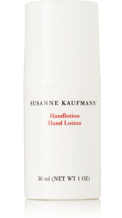 "<a href=""http://www.net-a-porter.com/product/600847/Susanne_Kaufmann/hand-lotion-30ml#"" target=""_blank"">Hand Lotion, $32, Susanne Kaufmann</a><br>"