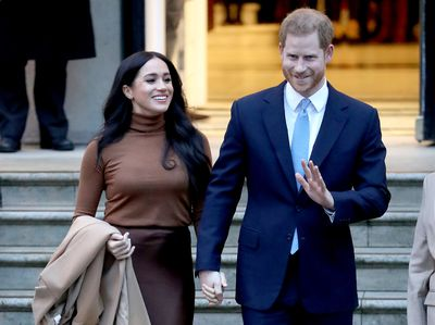January: Announced plans to leave royal family