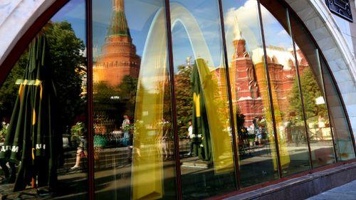 Russia closes 12 McDonald's restaurants over hygiene violations