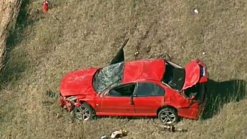 Man dies, two injured in car rollover near Lorne