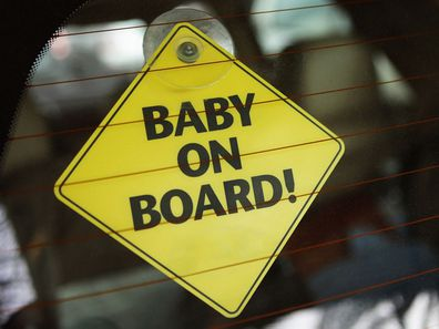 'Baby on Board' sign