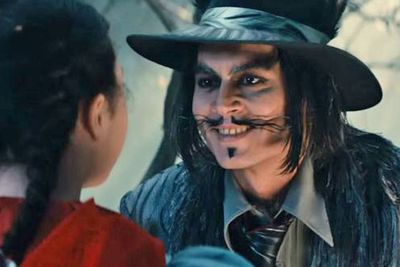 Somehow Johnny Depp managed to make an already unsettling wolf-in-men's-clothing into something even more terrifying. He almost looks like a sleazy pimp or '70s gangster gone wrong.<br/><br/><b>Weird factor: 8.5/10 (half a point for the creepy hat)</b>