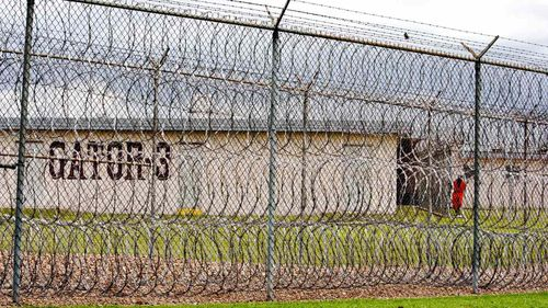 Louisiana State Penitentiary, aka Angola, the maximum security prison where Billy Graham's coffin was built. (AAP)