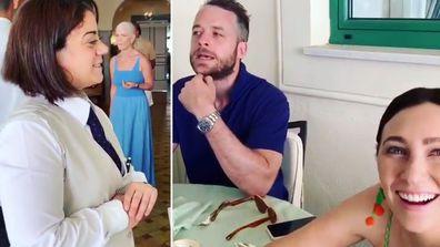 Hamish Blake's Italian prank