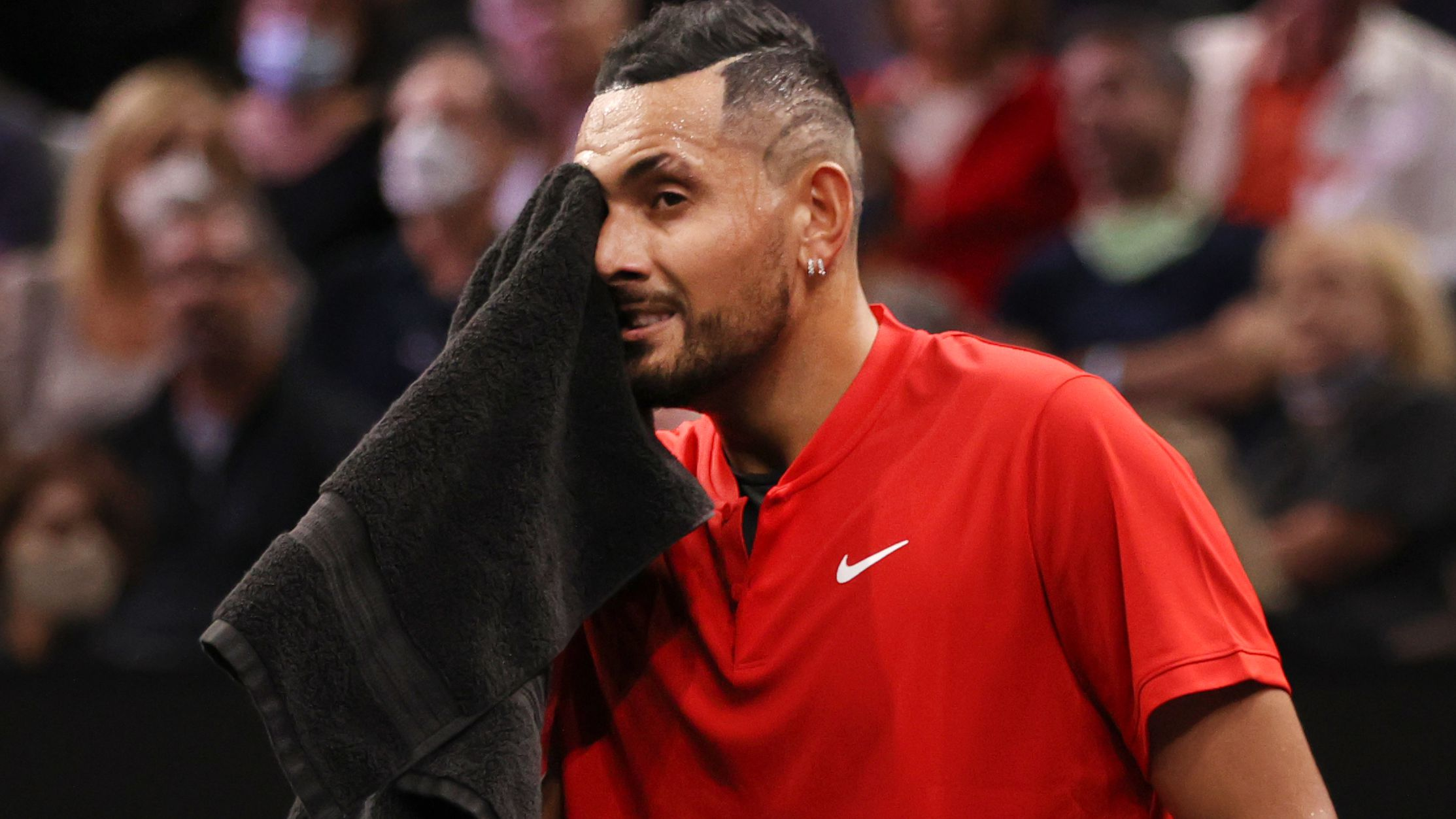 Nick Kyrgios reveals injury battle, vows to regain fitness before Australian Open
