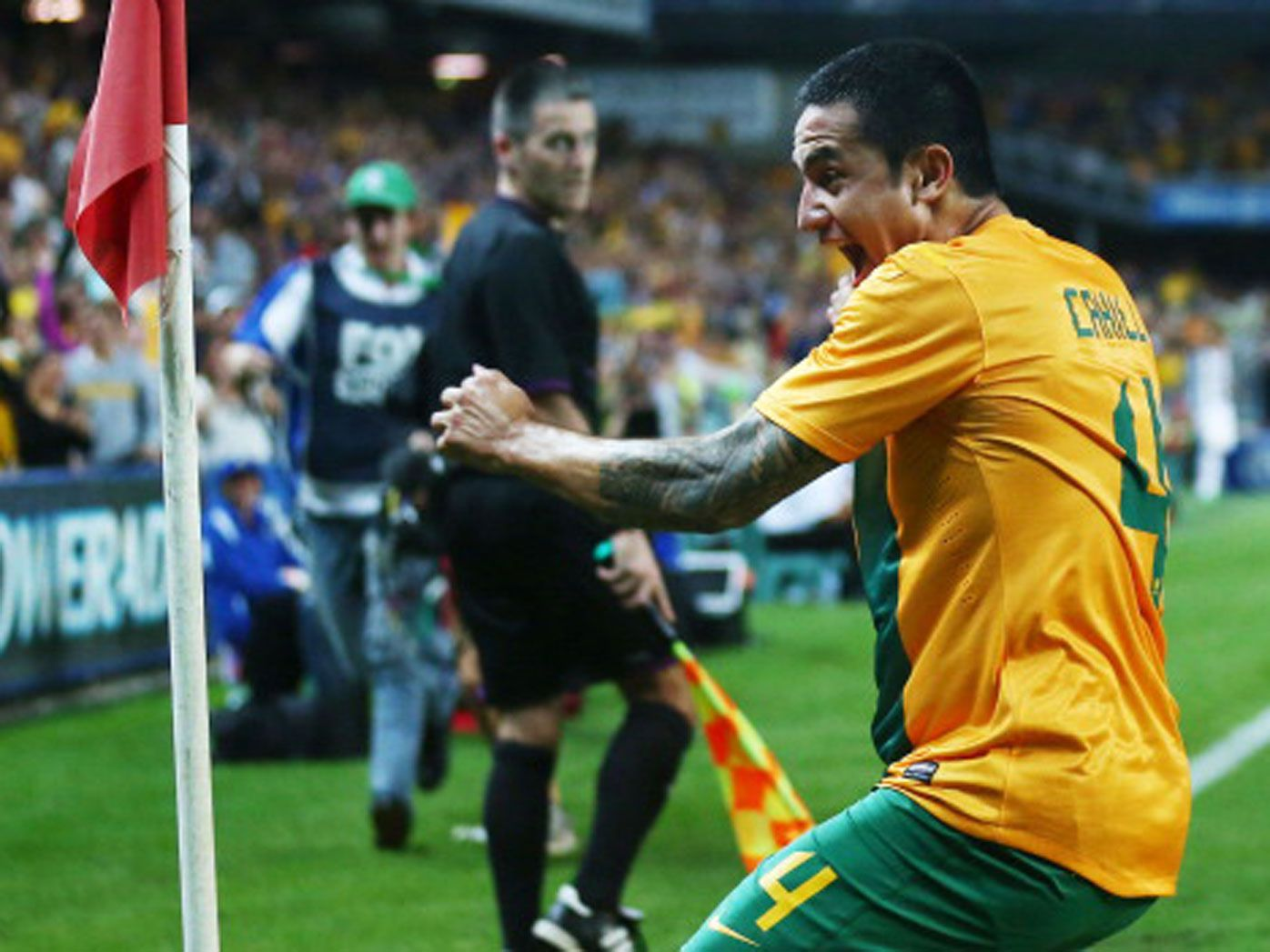 Tim Cahill. (Getty)