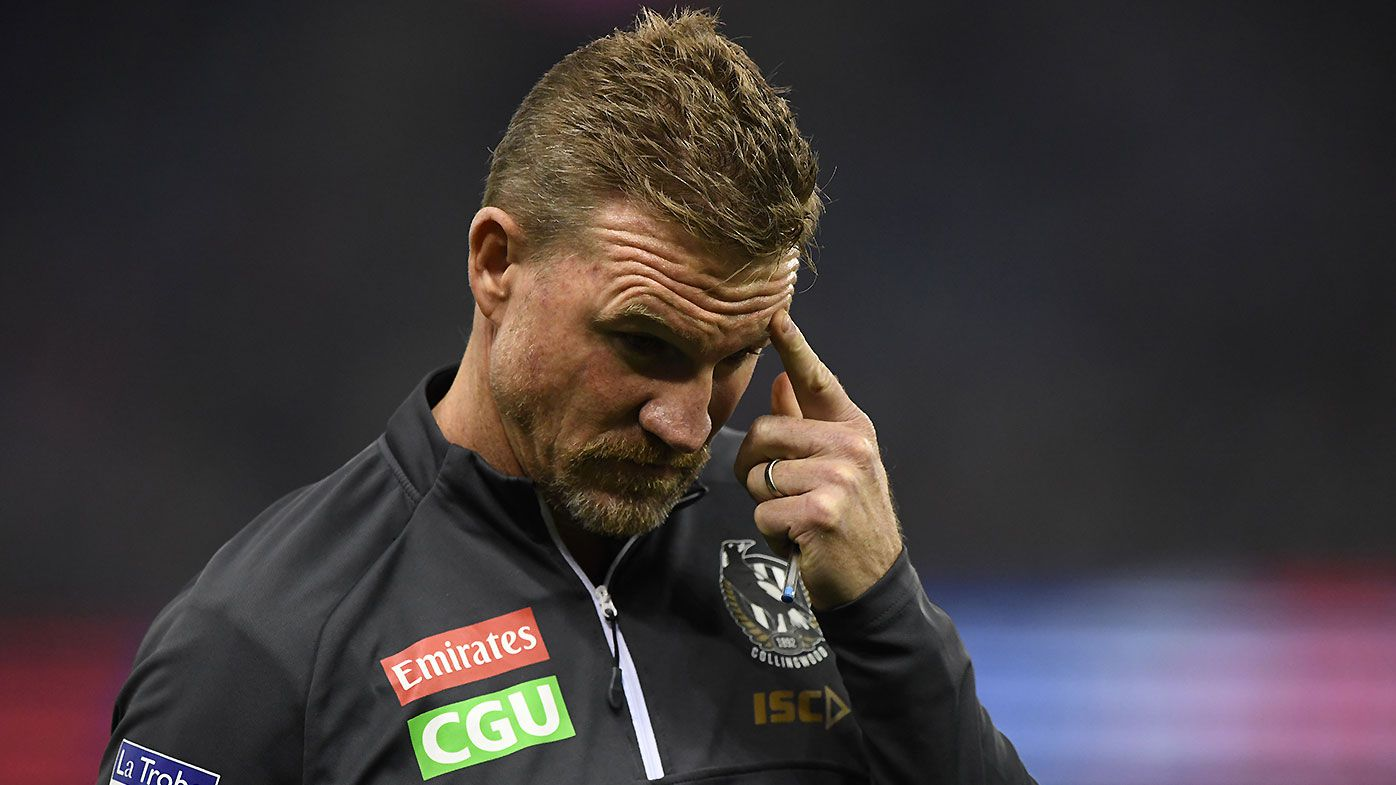 'The worst we've played': Collingwood coach Nathan Buckley livid with performance despite win over Western Bulldogs