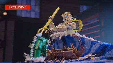 Henry and Cade reveal their favourite LEGO builds
