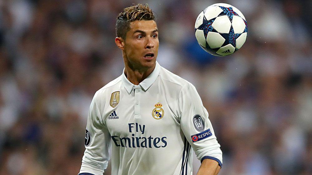 Real Madrid's Cristiano Ronaldo.