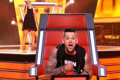 """Was it staged? Or a genuine stuff-up? Lucky for Victorian singer Kathy Hinch, she got through to Team Joel in the end.<br/><br/><b><a href=""""http://www.thevoice.com.au/"""">For the latest updates, visit The Voice official website.</a></b>"""