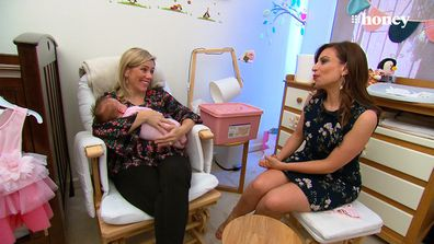 Emily and Charlotte with Jo Abi