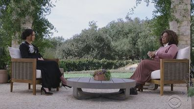 Meghan and Oprah interview CBS