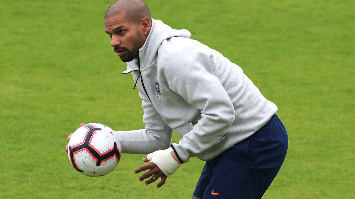 India's Shikhar Dhawan ruled out of Cricket World Cup