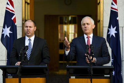 Mr Turnbull and Energy Minister Josh Frydenberg spoke about the Coalition vote today.