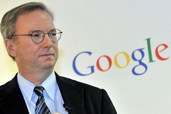 Former Google CEO Eric Schmidt
