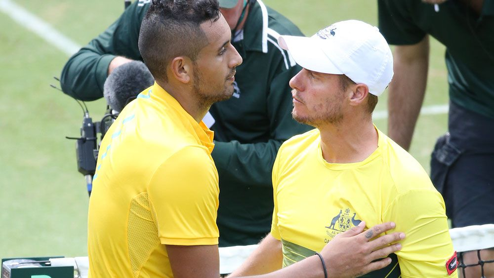 Kyrgios hunting for coach after Open exit