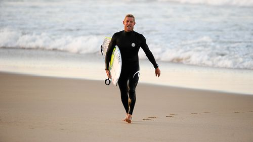 Three-time world surfing champion Mick Fanning announces his professional retirement from the sport. (AAP)
