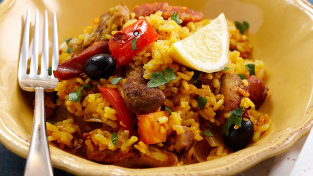 Baked paella for $9.90