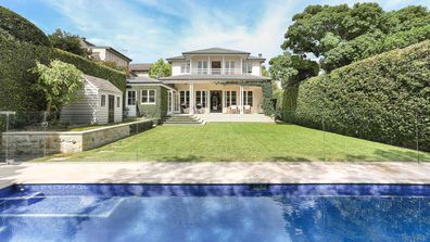 Jackie 'O' Henderson and Lee Henderson's Vaucluse home.
