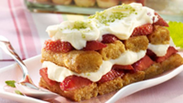 Baileys strawberry tiramisu