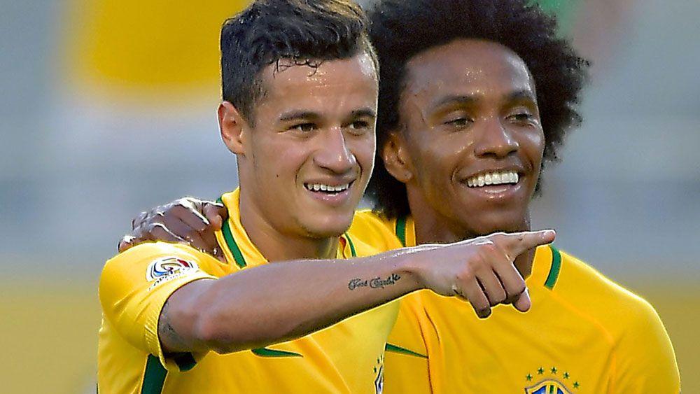 Copa America: Brazil star Coutinho unleashes rocket against Haiti