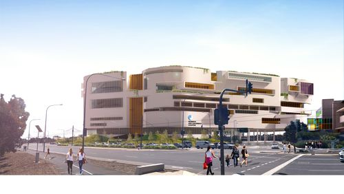 The cost of the new hospital project will not be revealed until some time next year.