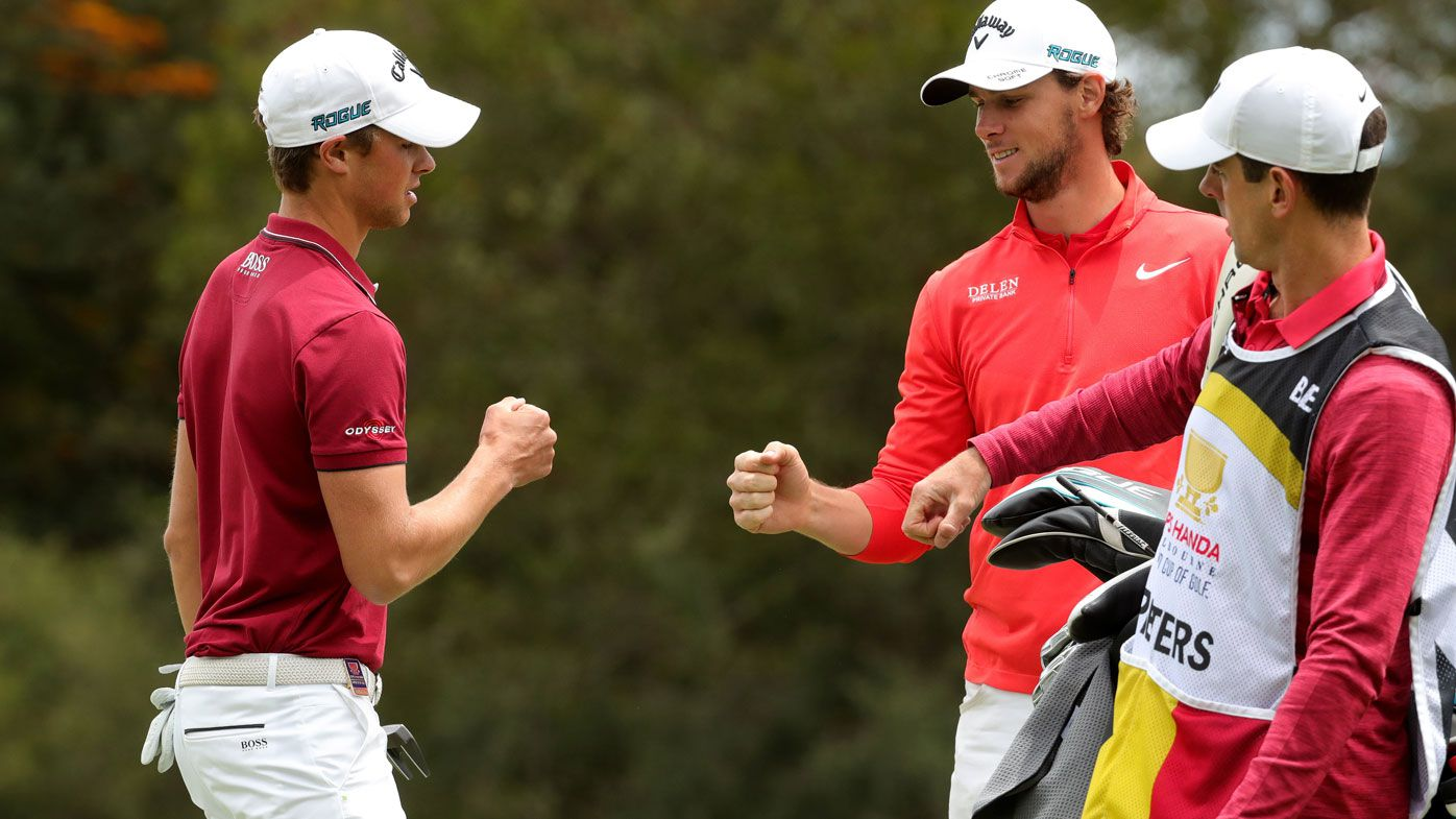 Belgium see off Australia to win World Cup of Golf title