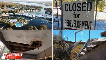 Residents of rundown island 'treated like second-class citizens'