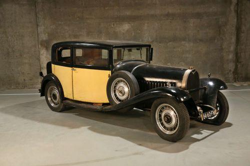The 1923 Bugatti Type 49 Berline.