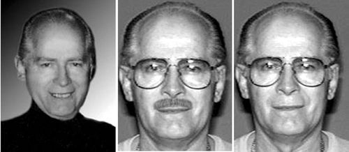 An undated FBI handout photo shows notorious Boston gangster James 'Whitey' Bulger.