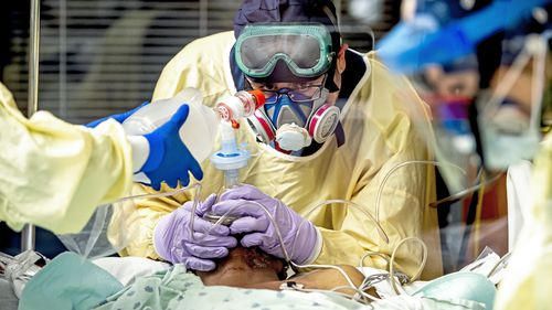 U.S.  Govt corona virus