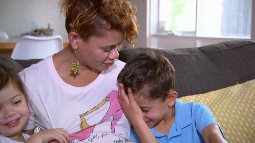 Mum Lana Morrison spoke to 9News about the daily stress of being a parent.