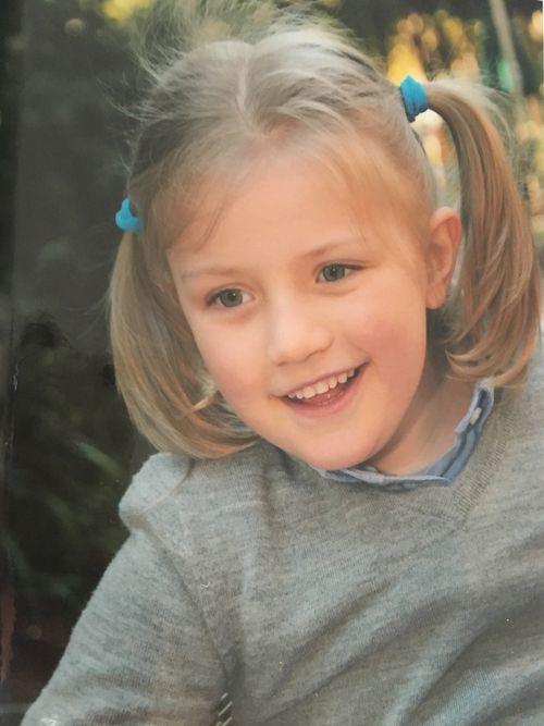 Tiaré's most recent preschool photo.