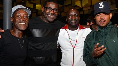 Actor Don Cheadle, former NFL player Micheal Irvin, and recording artists Akon and Chance the Rapper.