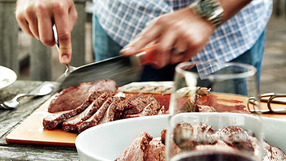 Texan style barbecue