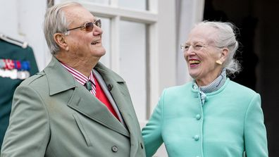Queen Margrethe II with Prince Henrik