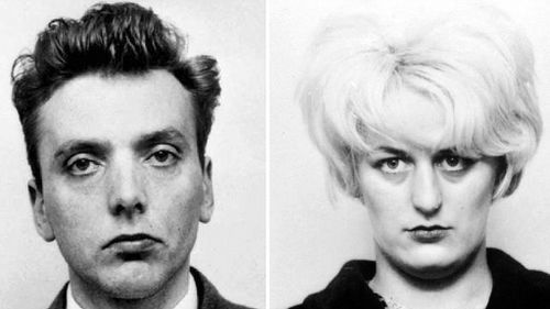Moors Murderers Ian Brady and Myra Hindley. (AFP)