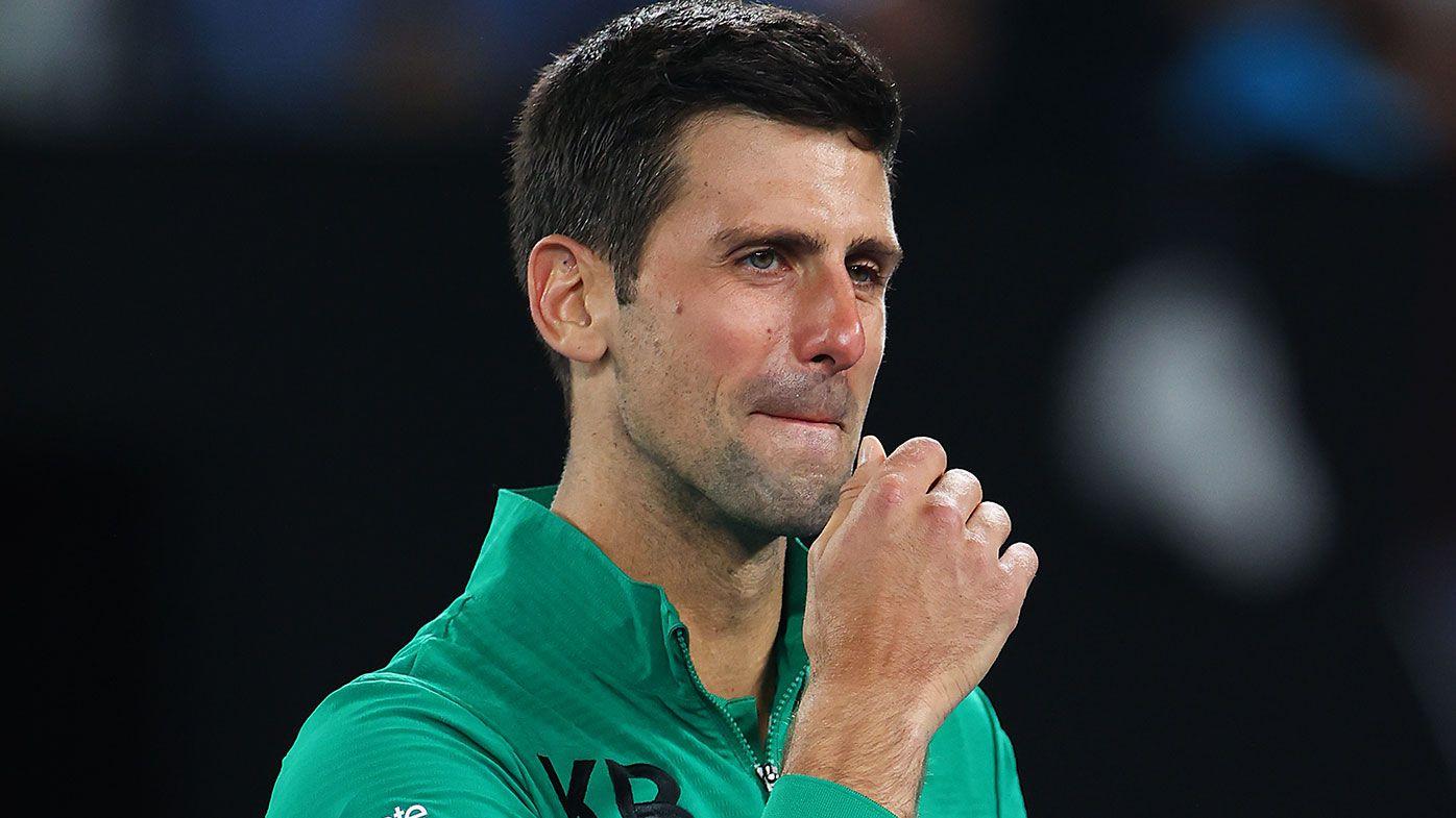 Emotional Novak Djokovic breaks down over death of 'mentor and friend' Kobe Bryant