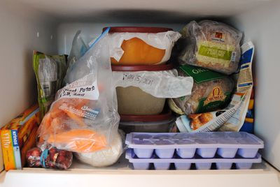 You don't label the food you store