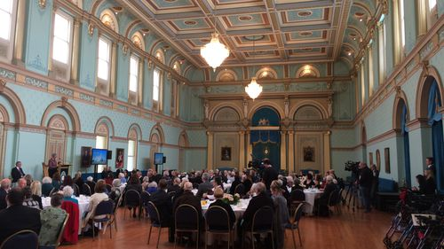 The Centarians lunch took place at Government House. (Madeline Slattery)