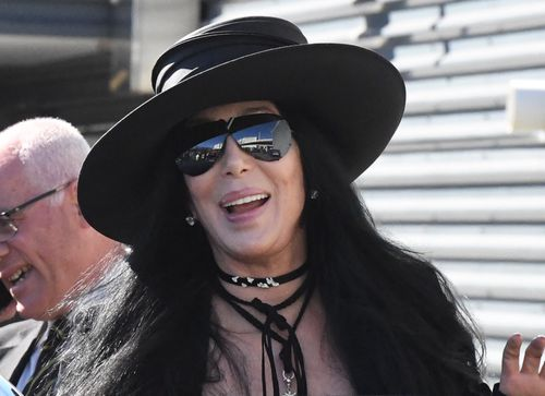 Pop icon Cher has arrived in Sydney for the Mardi Gras. (9NEWS)