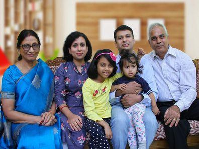 Lipi with family