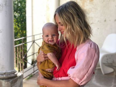 Sylvia Jeffreys with her son Oscar