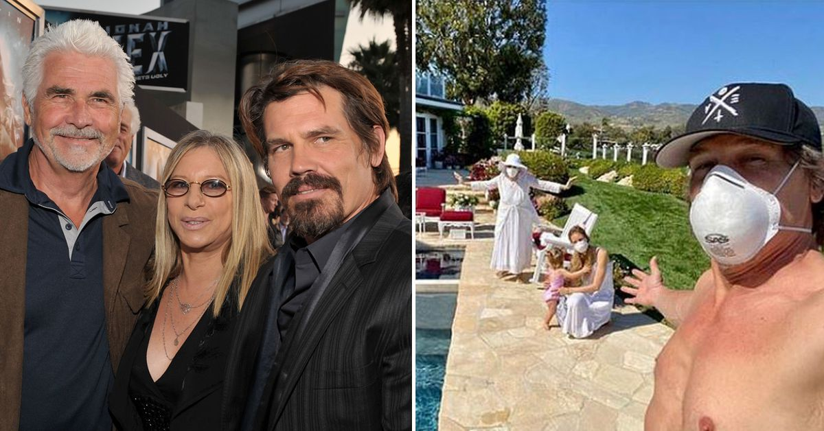 Josh Brolin apologises for breaking social-distancing rules by visiting elderly parents James Brolin and Barbra Streisand – 9Honey